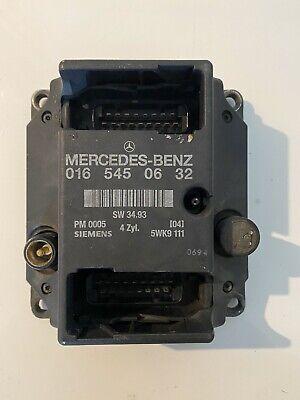 MERCEDES BENZ W202 ENGINE ECU PMS 0165450632 - 5WK9111 Ignition Control Unit