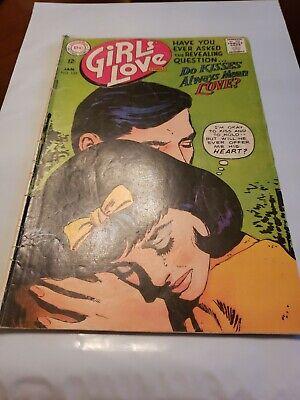 Dc Comic Girls (Girls' Love Stories #132 1967 - DC Comic)