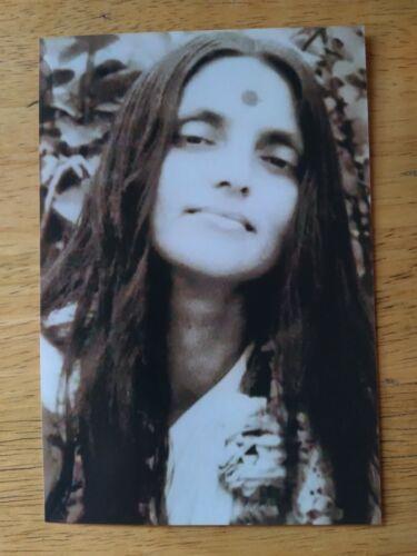 "🌻RARE PORTRAIT PHOTO ANANDAMAYI MA GREAT SAINT GURU INDIA 5"" x 7"" SEPIA TONE🌻"