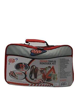AAA 103 Piece Premium Traveler Emergency Roadside Kit With Carrying Case 4285AAA