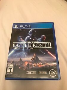 Ps4 battlefront 2 like new