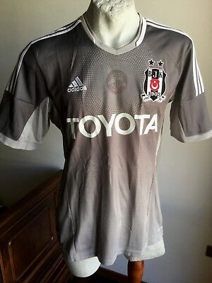 Besiktas Jersey BJK 2017 2018 Season Gray Match third KK Jersey Adidas  Original d6b9cbc75