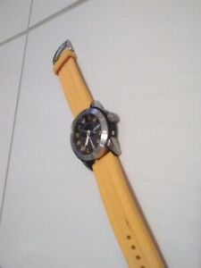 Unisex Yellow/Tangerine Emporio Armani Watch (AR5872)