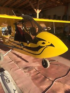 2001 challenger 2 ultralight aircraft