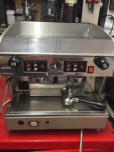 Wega atlas compact two group coffee machine coffee cart Bellfield Banyule Area Preview