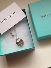 Tiffany Locks Heart Lock Necklace Ellenbrook Swan Area Preview