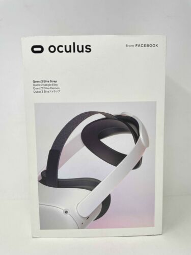 Oculus Quest 2 Elite Strap for Enhanced Support and Comfort in VR - NEW