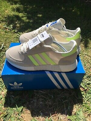 Adidas Marathon Tech  Size UK 8.5 Bnwb Immaculate Cream Grreen rrp £70 Summer