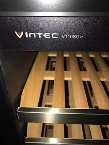 Vintec V110SGE 121 bottle wine fridge Wilston Brisbane North West Preview