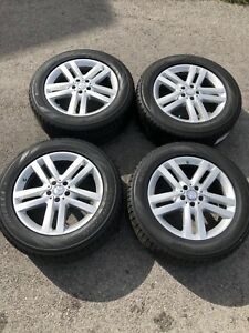 "Mercedes GL 19"" factory rims w/ Pirelli Scorpion Ice Snow tires"