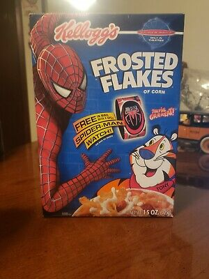 Vintage 2004 Kellogg's Frosted Flakes Spider-Man Box