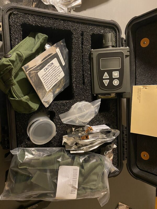 New! Chemical Agent Detector M4, JCAD W/ Pelican Case 1500 Army Grade