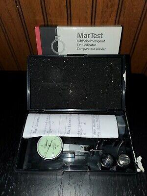 Mahr Federal Martest 801s1 Dial Test Indicator .001 Grad 0.015 Range