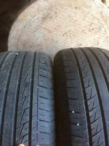 2 205/55R16 tires for sal