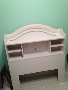 Twin sized headboard - white