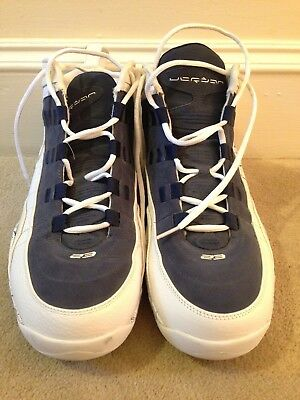 separation shoes d96c8 e2b9d Stephen Jackson Game Worn Used Jordan Shoes Charlotte Bobcats Signed