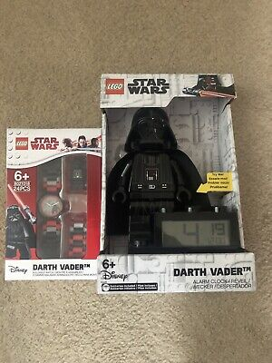Star Wars DARTH VADER Alarm Clock And Watch Set