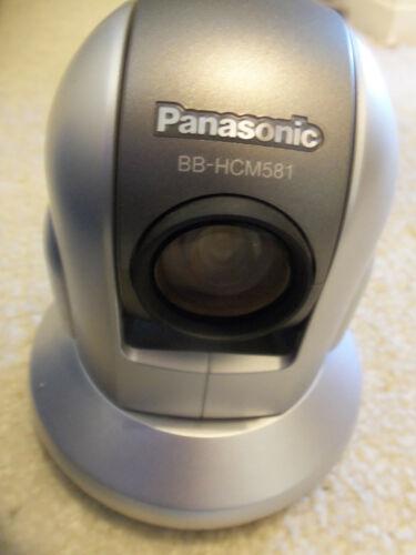 PANASONIC BB-HCM581A IP NETWORK SECURITY SURVEILLANCE PTZ CAMERA