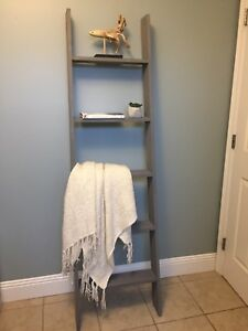 Custom made 6' shelf ladder