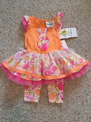New Baby Girl Size 9 Minth Two Piece Outfit From Dillards ( Rate Editions)