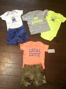 Boys brand new 6 mon clothes