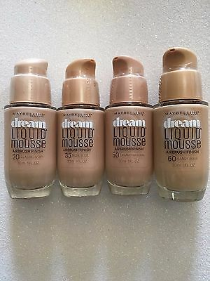 (1) Maybelline Dream Liquid Mousse Airbrush Finish, You Choose!! ()