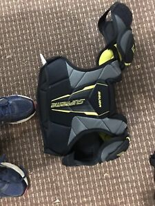 Bauer chest protector and elbow guards