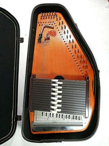 Vintage Autoharp Oscar Schmidt 15 chord 36 String With Original Hard Case