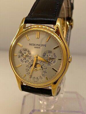 Patek Philippe Grand Complications Perpetual Calendar Gold Men's Watch 5140J-001