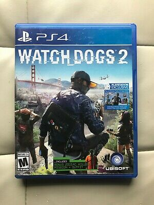 Watch Dogs 2 PlayStation 4 PS4 Game, used for sale  Shipping to Nigeria