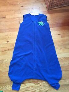 Fleece sleep sack, size 4T
