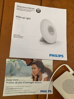 Philips SmartSleep HF3500/60 Wake-Up Light Therapy Alarm Clock