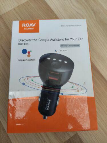 Anker ROAV Bolt 2-Port USB Car Charger with Google Assistant Model : R5360