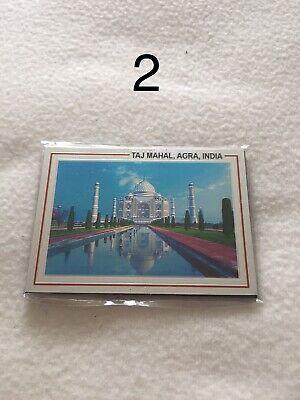 Collectors India Taj Mahal Fridge Magnets