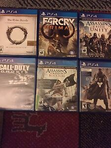 Selling & or trading PS4 games