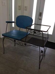 Table et chaise combinée rétro