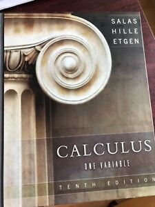 Calculus one variable textbook