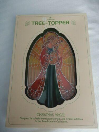 Hallmark Keepsake 1979 ~ Vintage Christmas Angel Acrylic Tree Topper
