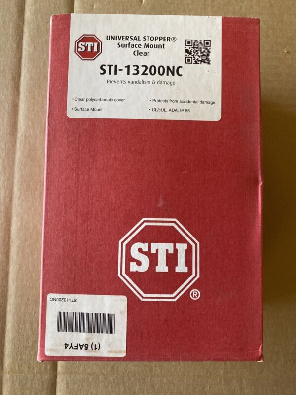 SAFETY TECHNOLOGY INTERNATIONAL STI-13200NC Surface Mount Clear Poly Enclose