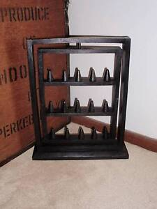 Jewellery Stand, Display, Ring Holder, Black Timber, NEW Claremont Nedlands Area Preview
