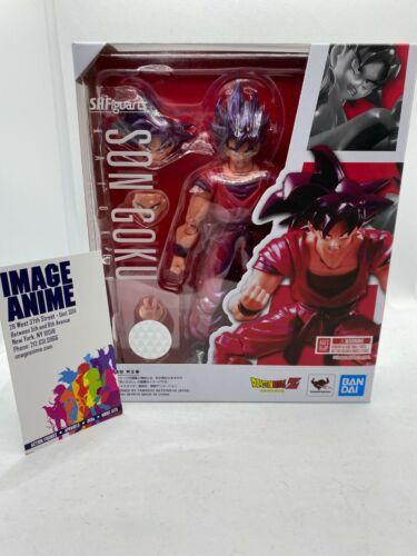 Tamashii Nations S.H. Figuarts Dragon Ball Z: Son Goku Kaioken US SELLER