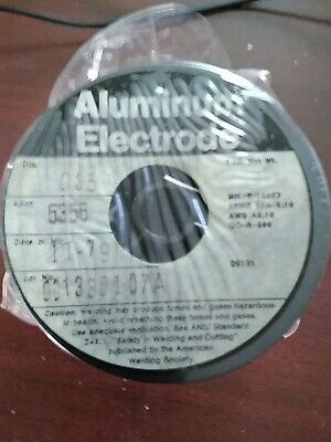 Aluminum Electrode Welding Wire 1lb Spool Alloy 5356  Diameter .035 Nip