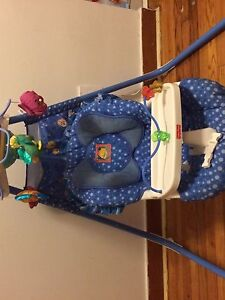 Fisher price two direction swing