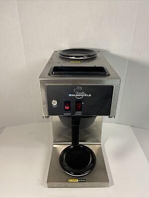 Bloomfield 2-burner Commercial Coffee Maker Brewer Model 8543 2w