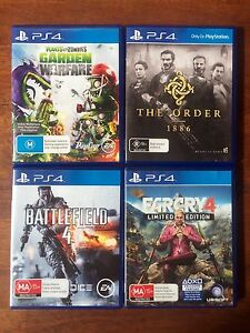 PS4 Games $20 each Highland Park Gold Coast City Preview