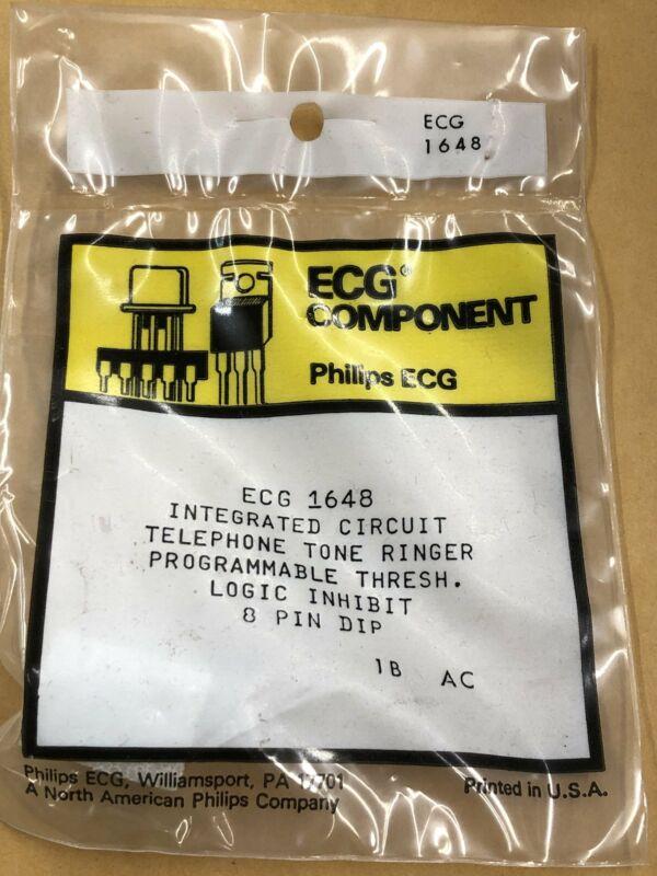 ECG1648 Telephone Tone Ringer IC ~ 8 Pin DIP (NTE1648)