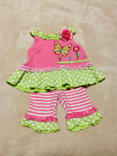 Baby Essentials Baby Girl Outfit 12 M - $5.00