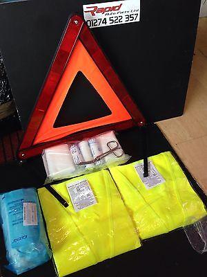 Car Essentials European Euro Travel Emergency Breakdown Kit