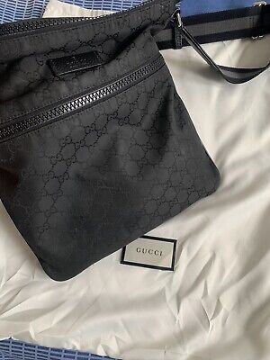 Gucci Messenger Bag - Medium Pouch With Dust Bag 100% Authentic - Hardly Worn