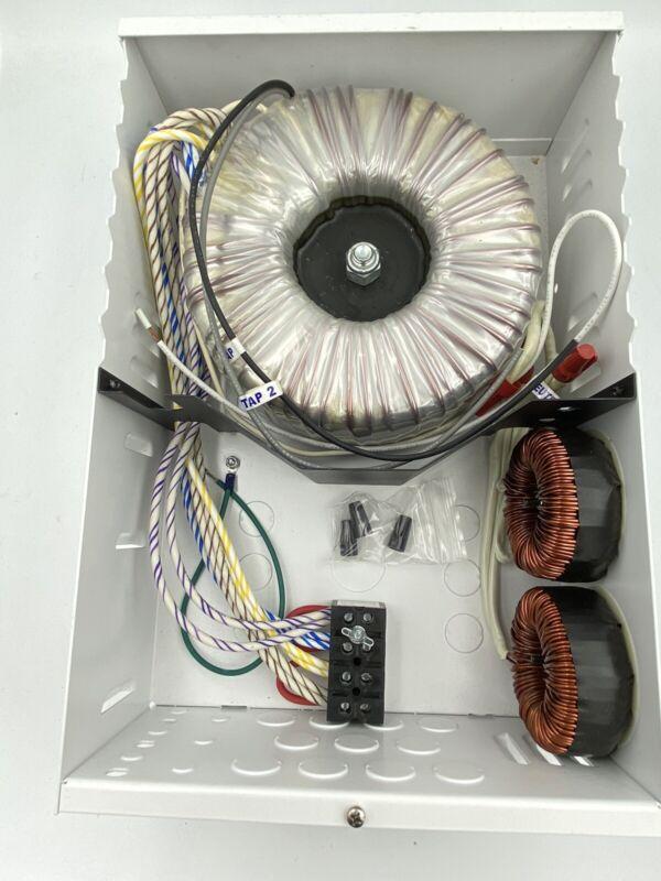 Q-TRAN Q6L-1500 LOW VOLTAGE TRANSFORMER 120VAC(13.7A) TO 277VAC(5.9A) New W Box